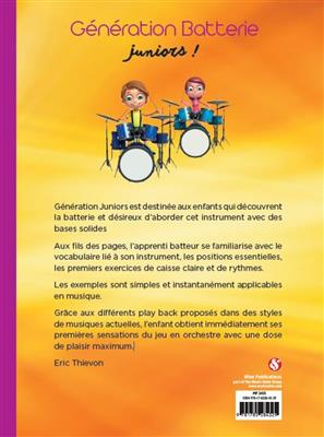 Génération Batterie Juniors!: Drums and Percussion