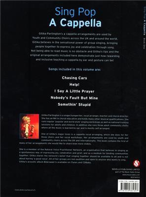 Sing Pop A Cappella - Book One: Arr  (Gitika Partington