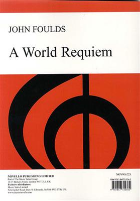 John Foulds: A World Requiem Op.60: Mixed Choir