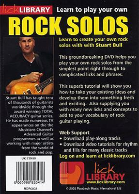 Learn To Play Your Own Rock Guitar Solos