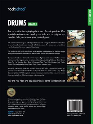 Rockschool Drums - Grade 1 (2012-2018): Drums and Percussion