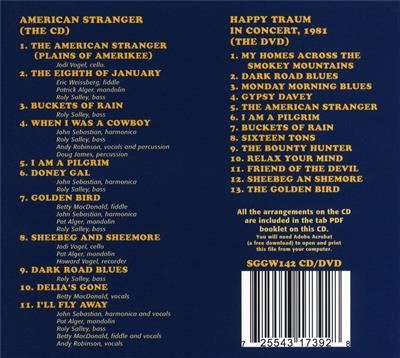 Happy Traum: American Stranger: CD's, DVD's or CD-ROM general