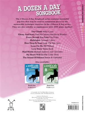 A Dozen A Day Songbook Mini Pop Hits: Piano or Keyboard