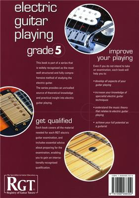 Rgt Electric Guitar Playing Grade 5 Lcm: Guitar or Lute