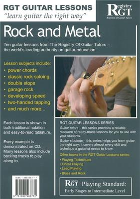 Rgt Guitar Lessons Rock and Metal