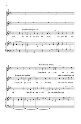 Felix Mendelssohn Bartholdy: Laudate Pueri: SSA | Musicroom com