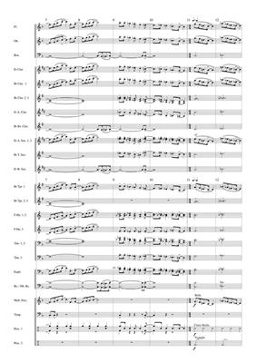 Chanson d'Amour: Arr. (Andrew Watkin): Concert Band