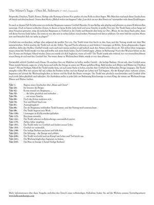 Otto M. Schwarz: The Miner's Saga: Concert Band