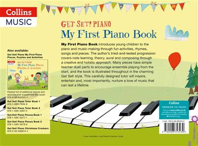 Get Set! Piano My First Piano Book