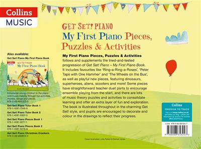 Get Set! Piano My First Pieces & Activities