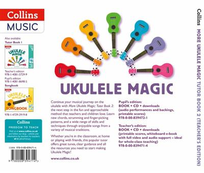 More Ukulele Magic - Tutor Book 2 (Teacher's Book)
