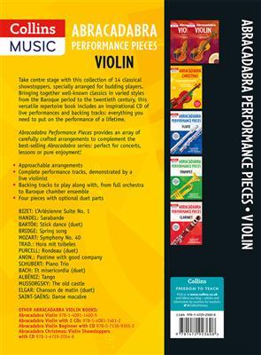 Abracadabra Performance Pieces - Violin