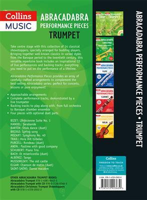 Abracadabra Performance Pieces - Trumpet: Trumpet, Cornet or Flugelhorn