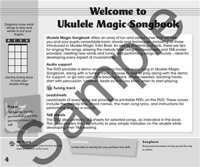 Ukulele Magic - Ukulele Magic Songbook