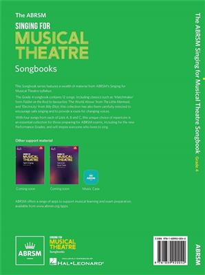 ABRSM: Singing for Musical Theatre Songbook Grade 4