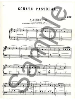 Lack: Sonate Pastorale Op253: Piano or Keyboard