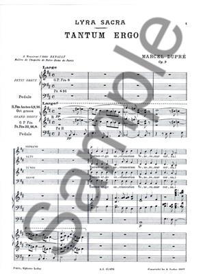 Marcel Dupré: Marcel Dupre: 4 Motets Op.9, No.3: Tantum ergo: Mixed Choir