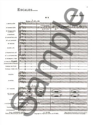 Jacques Ibert: Escales: Orchestra