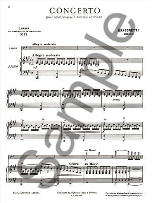Domenico Dragonetti: Dragonetti: Concerto: Double Bass