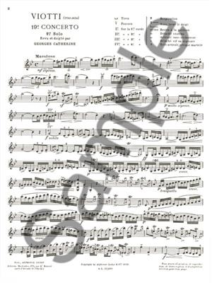 Giovanni Battista Viotti: Premiers Solos Concertos Classiques: Violin
