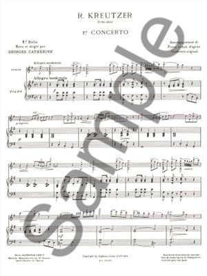 Kreutzer: Premiers Solos Concertos Classiques: Violin