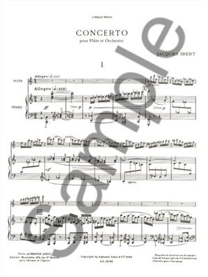 Jacques Ibert: Concerto For Flute And Orchestra: Flute