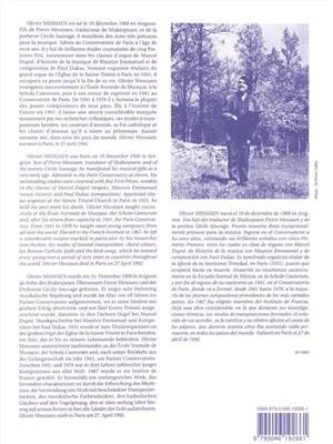 Olivier Messiaen: La Nativité Du Seigneur Vol. 1: Organ