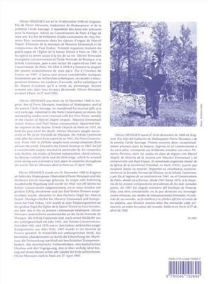 Olivier Messiaen: La Nativité Du Seigneur Vol. 2: Organ