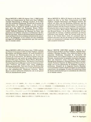 Marcel Moyse: 50 Melodic Studies by Demersseman Op. 4, Vol. 2: Flute