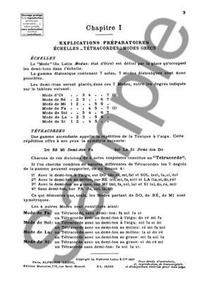 Marcel Dupré: Manuel d'Accompagnement du Plain Chant Grégorien: Organ