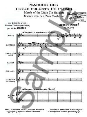 Gabriel Pierné: Marche des petits Soldats de Plomb Op.14, No.6: Wind Ensemble