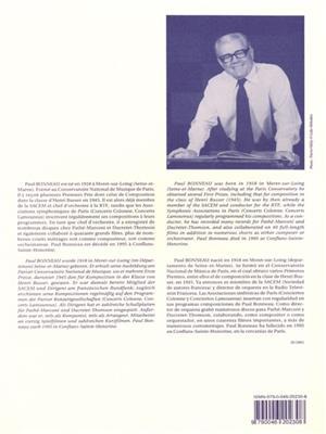 Paul Bonneau: Concerto: Saxophone