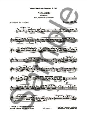 Eugène Bozza: Nuages - Scherzo For Saxophone Quartet: Saxophone Ensemble