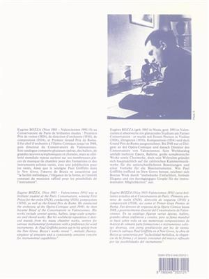 Eugène Bozza: Tableau Instrumental