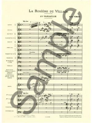 Henri Tomasi: Rosiere Du Village: Orchestra
