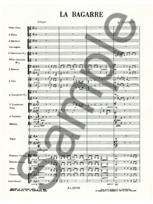 Bohuslav Martinu: La Bagarre H155: Orchestra