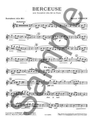 Perrin: Berceuse: Saxophone