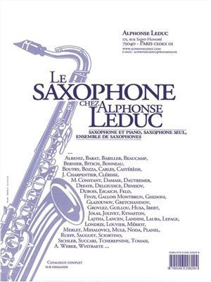 Georg Friedrich Händel: Sonata For Violin No.2: Alto Saxophone