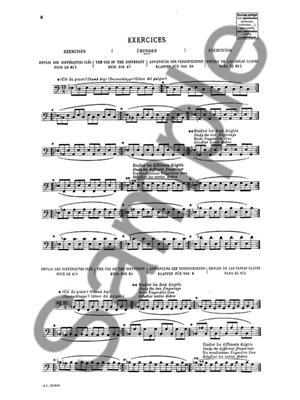 Piard Marius: Enseignement Du Contrebasson: Bassoon