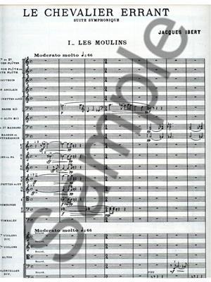 Jacques Ibert: Chevalier Errant: Orchestra