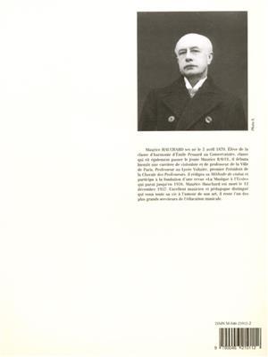 Maurice Hauchard: Étude Méthodique de la Double Cord: Violin