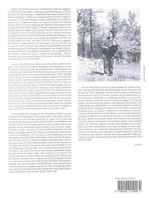 Olivier Messiaen: Livre d'Orgue