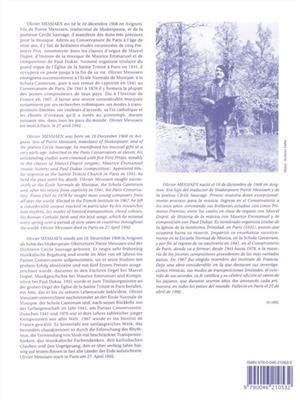 Olivier Messiaen: Le Merle Noir: Flute