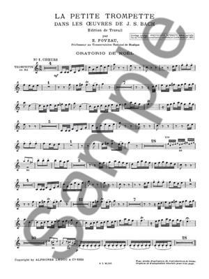 Eugene Foveau: La Petite Trompette dans les Oeuvres de J.S.Bach: Trumpet, Cornet or Flugelhorn