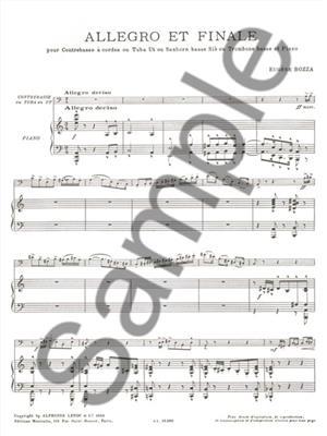 Eugène Bozza: Allegro And Finale: Bass Trombone
