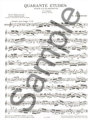 Blancou:40 Etudes Vol. 2 - 21 A 40