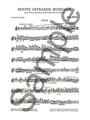 Nino Rota: Petite Offrande Musicale: Wind Ensemble