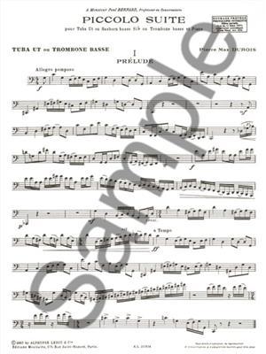 Pierre-Max Dubois: Piccolo Suite: Tuba