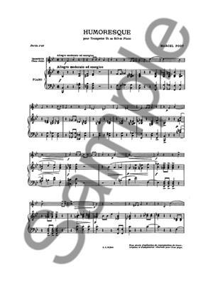 Poot: Humoresque: Trumpet, Cornet or Flugelhorn