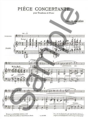 Carlos Salzedo: Piece Concertante: Trombone